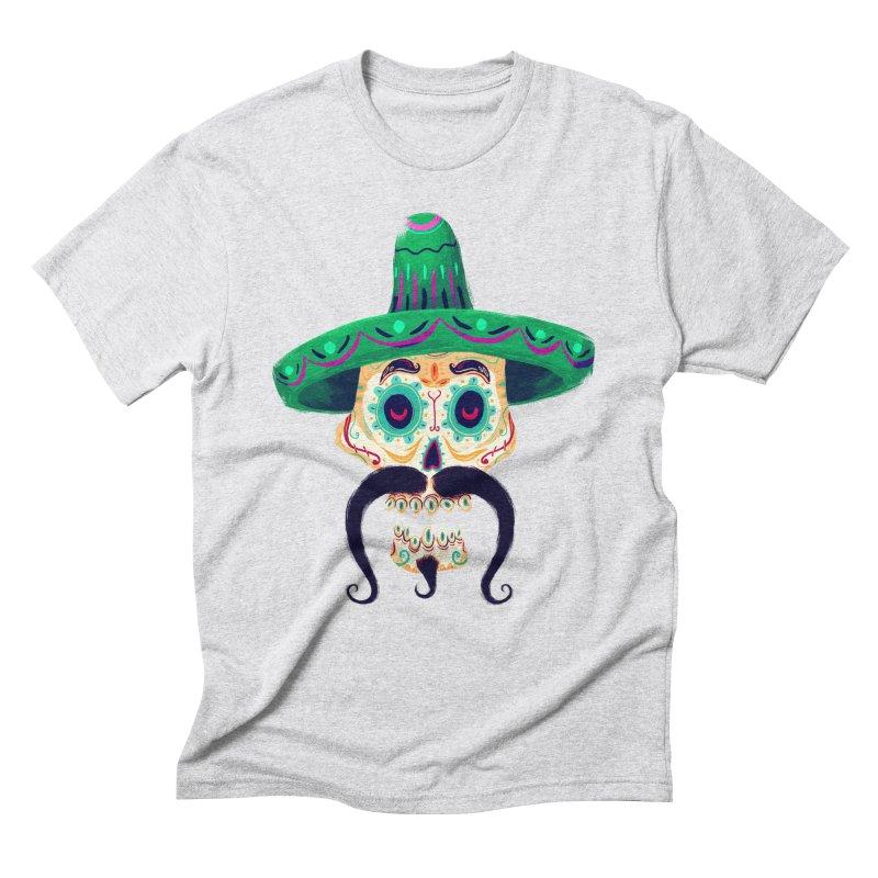 El Pistolero Men's Triblend T-Shirt by Astronauta Store