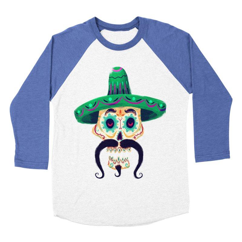 El Pistolero Women's Baseball Triblend T-Shirt by Astronauta Store