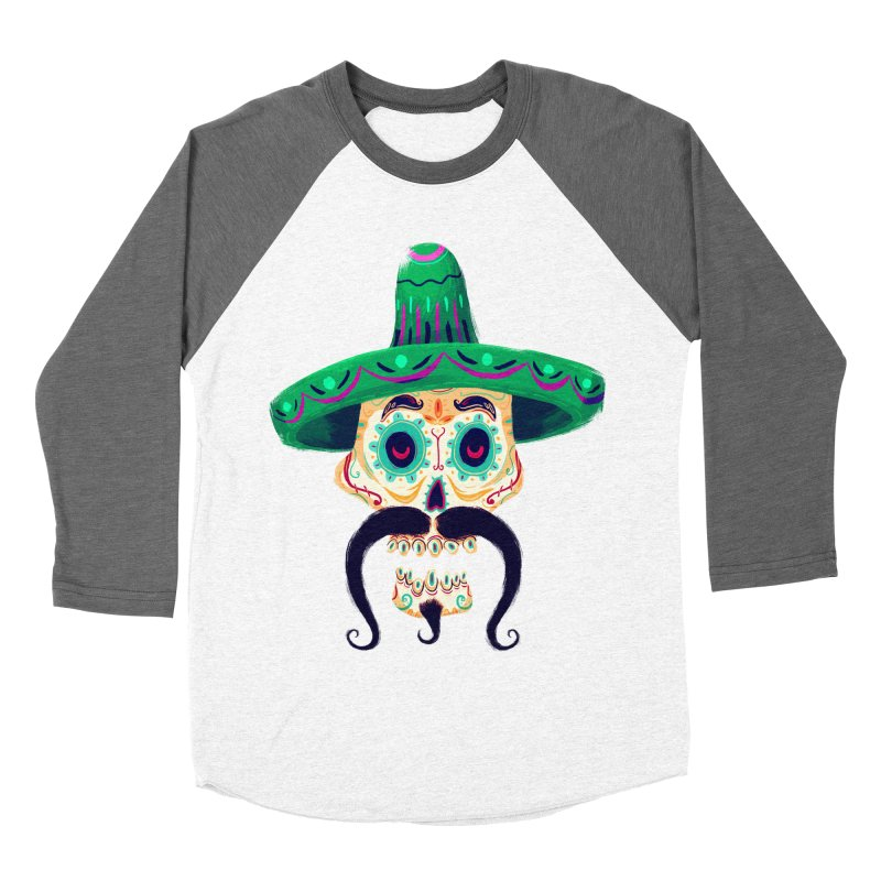 El Pistolero Men's Baseball Triblend T-Shirt by Astronauta Store