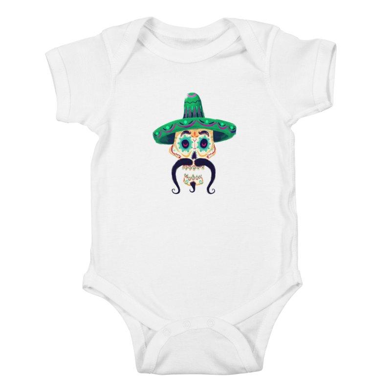 El Pistolero Kids Baby Bodysuit by Astronauta Store