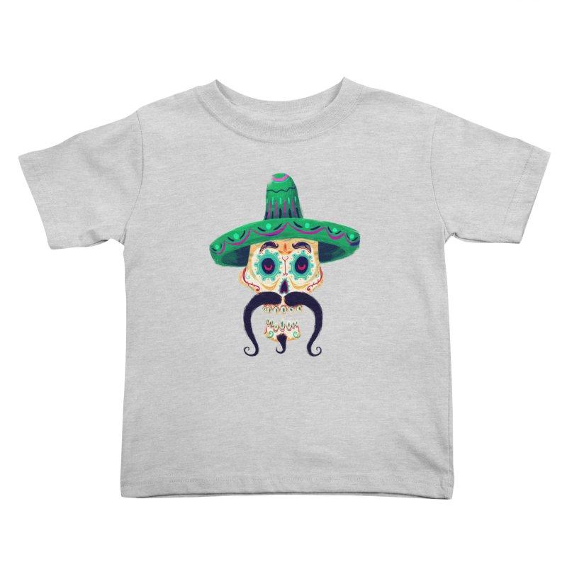 El Pistolero Kids Toddler T-Shirt by Astronauta Store