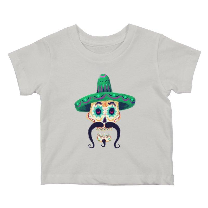 El Pistolero Kids Baby T-Shirt by Astronauta Store