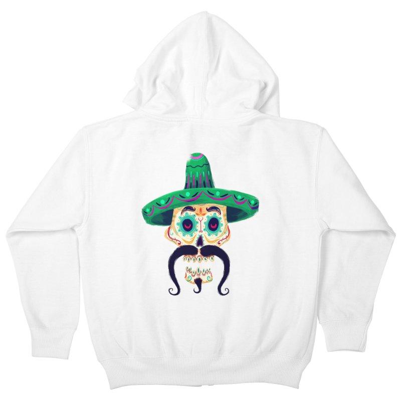 El Pistolero Kids Zip-Up Hoody by Astronauta Store