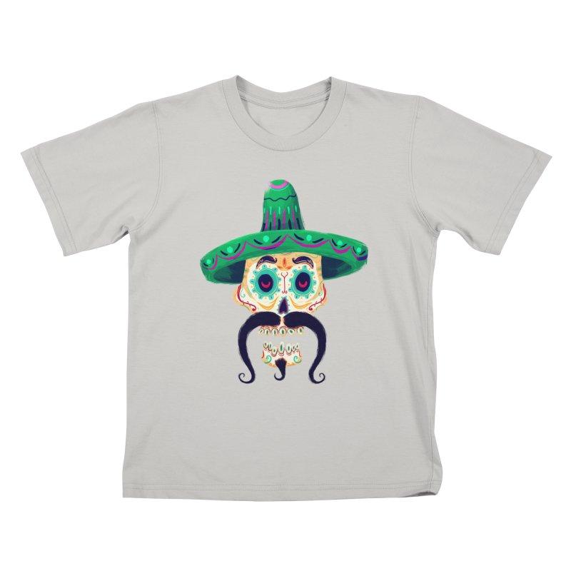 El Pistolero Kids T-shirt by Astronauta Store