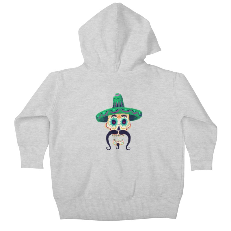 El Pistolero Kids Baby Zip-Up Hoody by Astronauta Store