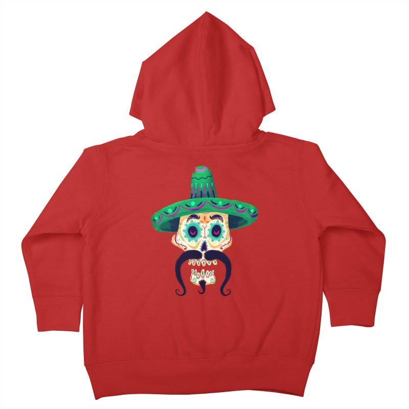 El Pistolero Kids Toddler Zip-Up Hoody by Astronauta Store