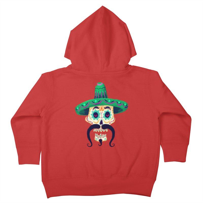 El Pistolero Kids Toddler Zip-Up Hoody by Astronauta Store