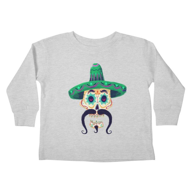 El Pistolero Kids Toddler Longsleeve T-Shirt by Astronauta Store