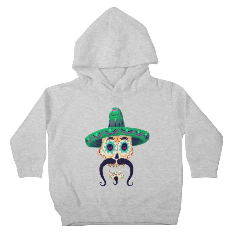 El Pistolero Kids Toddler Pullover Hoody by Astronauta Store
