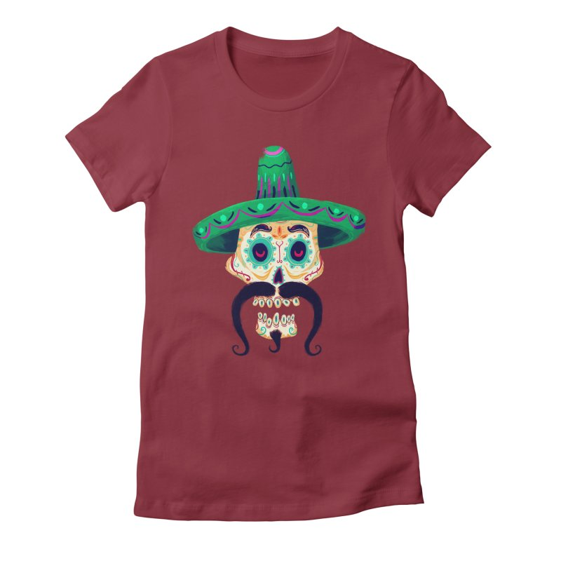 El Pistolero Women's Fitted T-Shirt by Astronauta Store