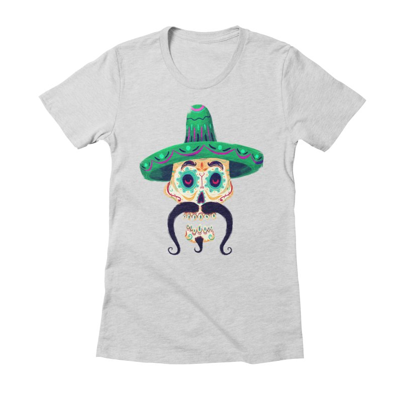 El Pistolero Women's Fitted T-Shirt by Astronauta Store
