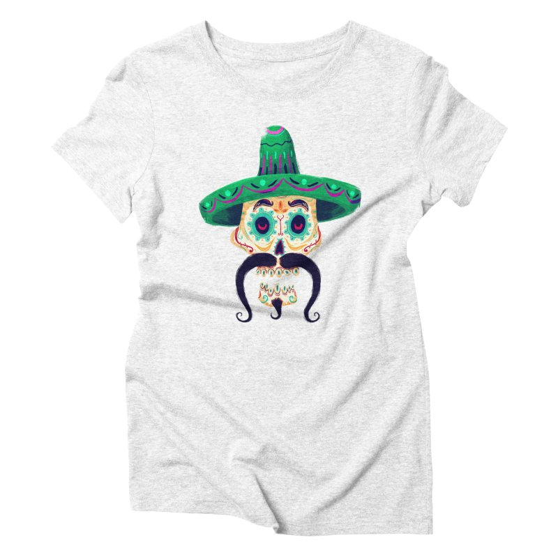 El Pistolero Women's Triblend T-shirt by Astronauta Store