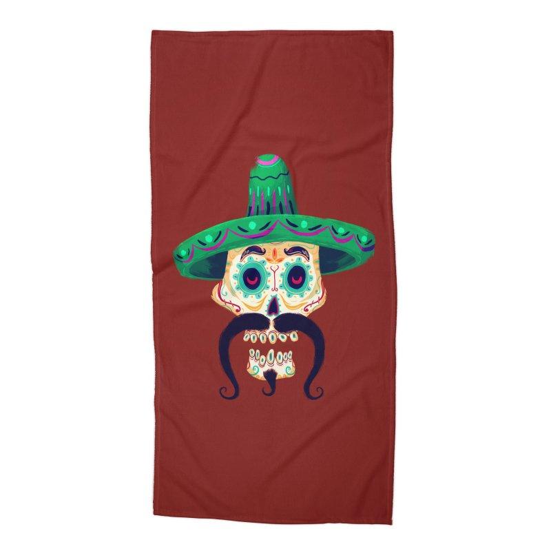 El Pistolero Accessories Beach Towel by Astronauta Store
