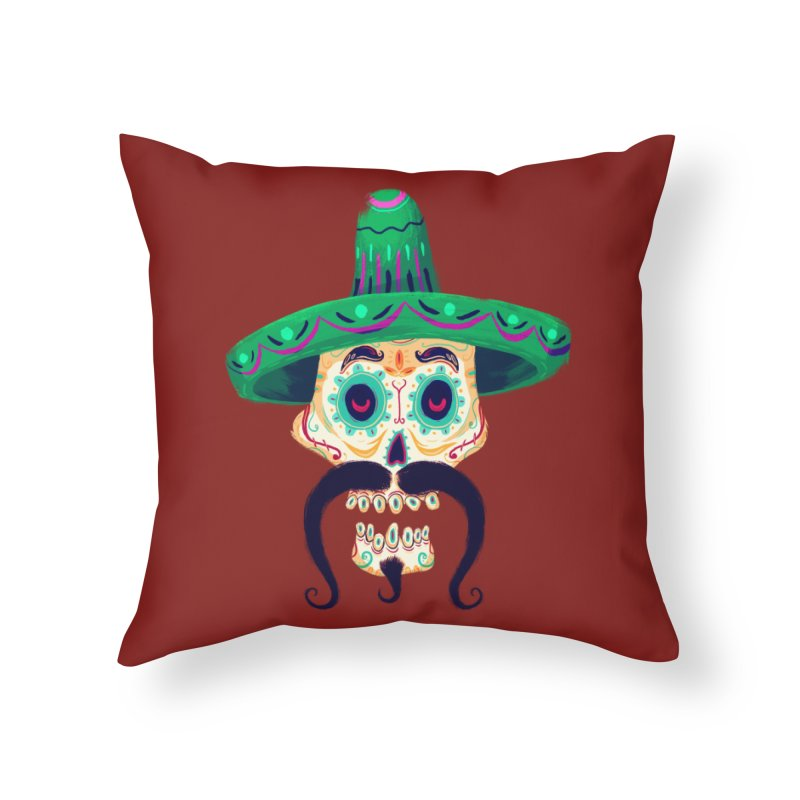 El Pistolero Home Throw Pillow by Astronauta Store