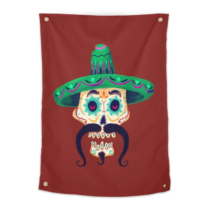 El Pistolero Home Tapestry by Astronauta Store