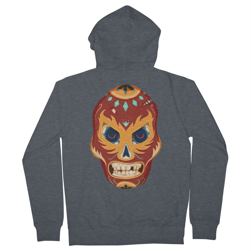 El Luchador Women's Zip-Up Hoody by Astronauta Store
