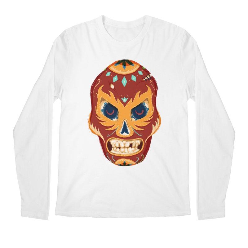 El Luchador Men's Longsleeve T-Shirt by Astronauta Store