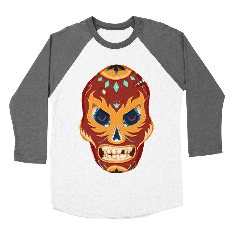 El Luchador Men's Baseball Triblend T-Shirt by Astronauta Store