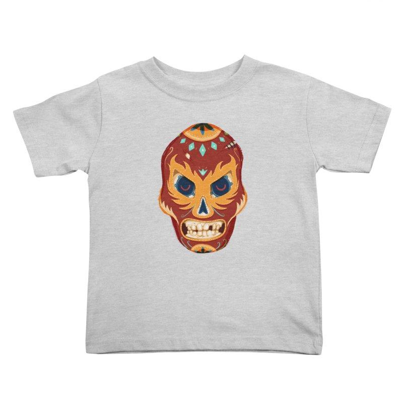 El Luchador Kids Toddler T-Shirt by Astronauta Store