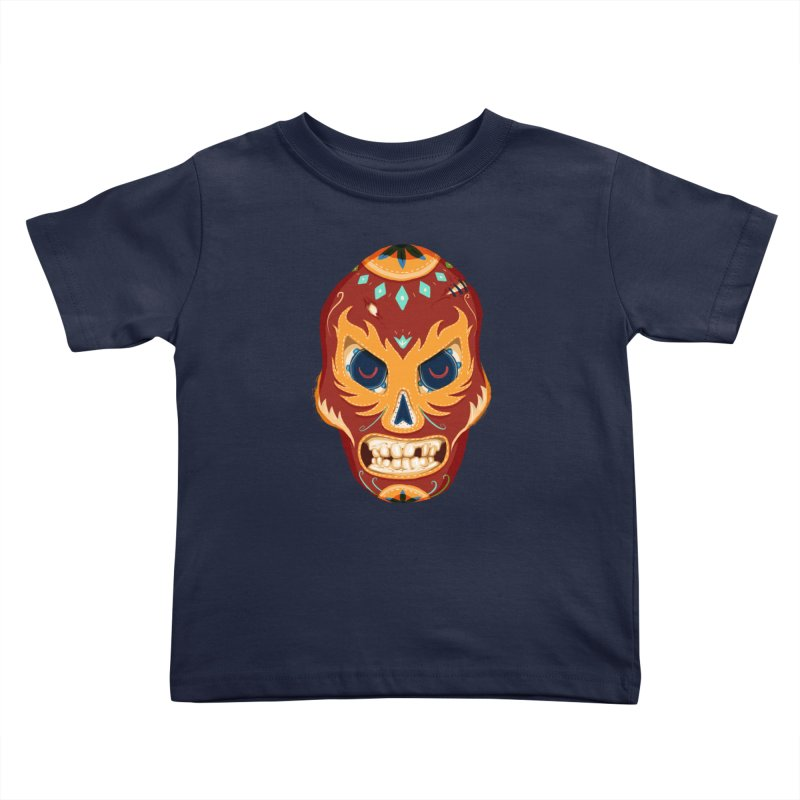 El Luchador Kids Toddler T-Shirt by Astronauta Store