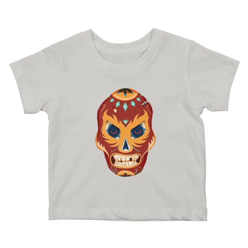 El Luchador Kids Baby T-Shirt by Astronauta Store