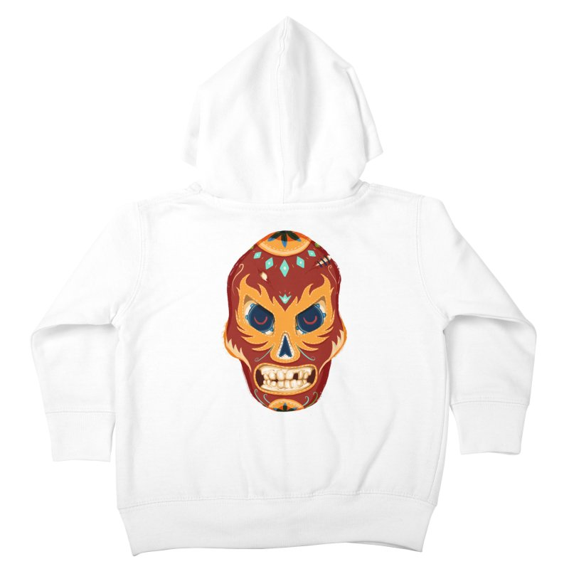 El Luchador Kids Toddler Zip-Up Hoody by Astronauta Store