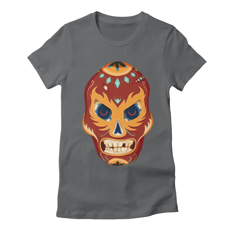 El Luchador Women's Fitted T-Shirt by Astronauta Store