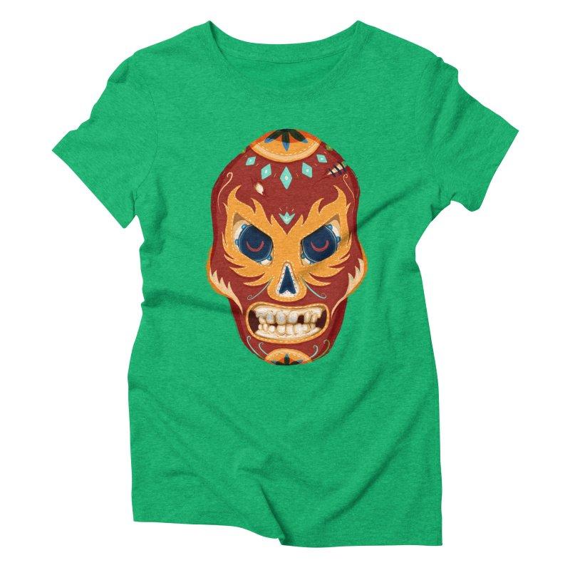 El Luchador Women's Triblend T-shirt by Astronauta Store