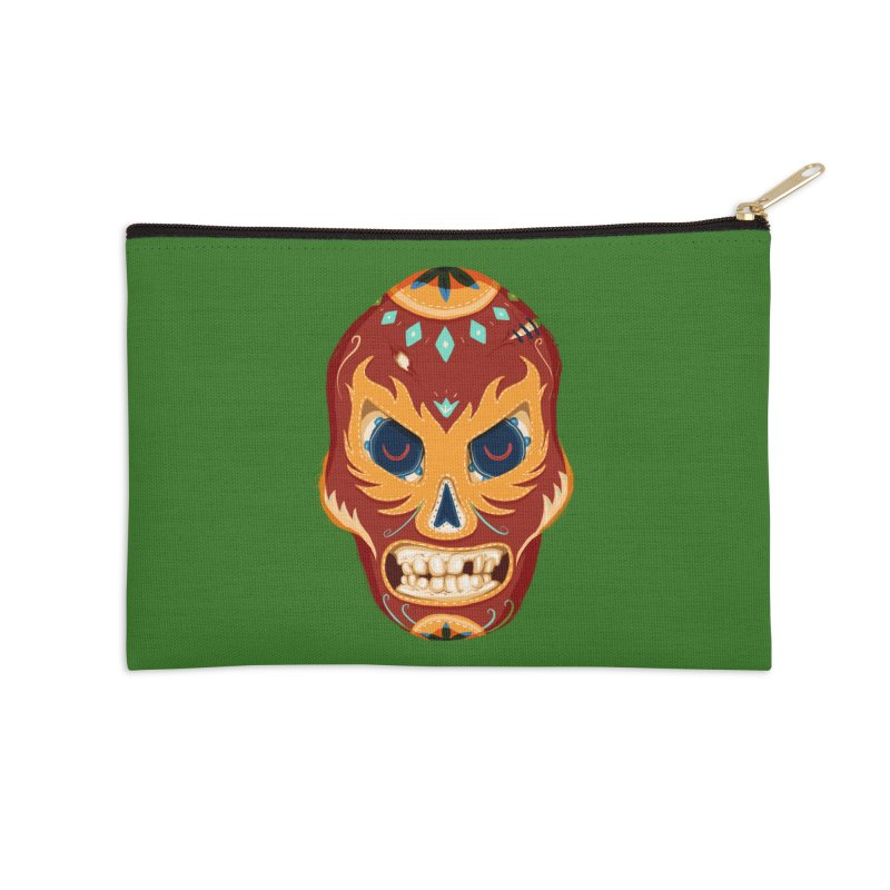 El Luchador Accessories Zip Pouch by Astronauta Store