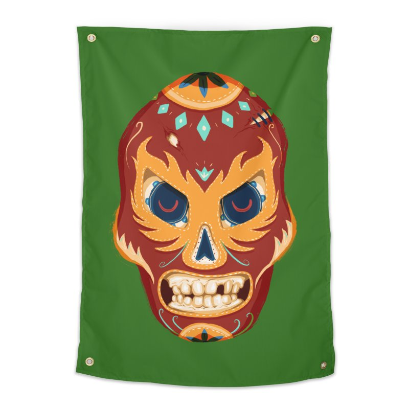 El Luchador Home Tapestry by Astronauta Store