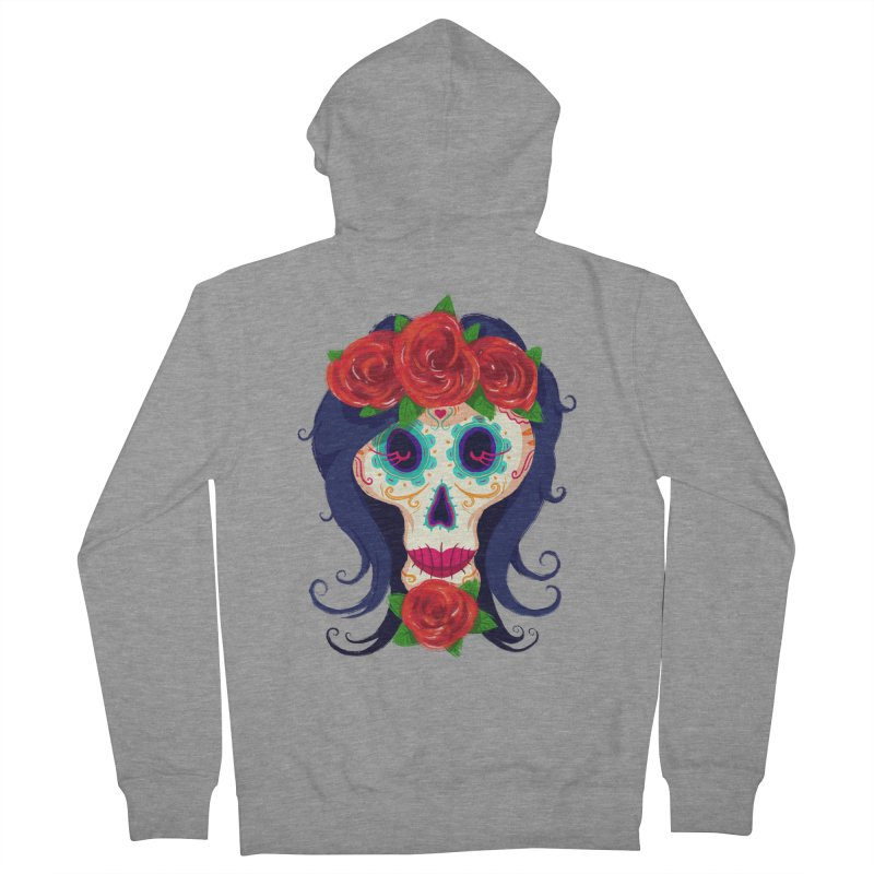 La Catrina Women's Zip-Up Hoody by Astronauta Store