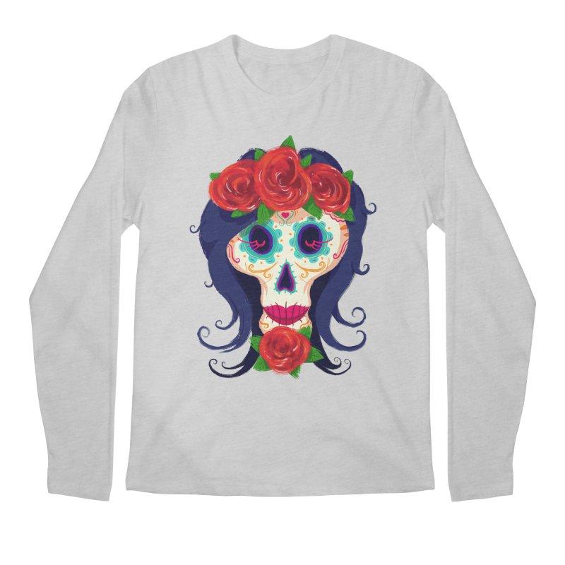 La Catrina Men's Longsleeve T-Shirt by Astronauta Store