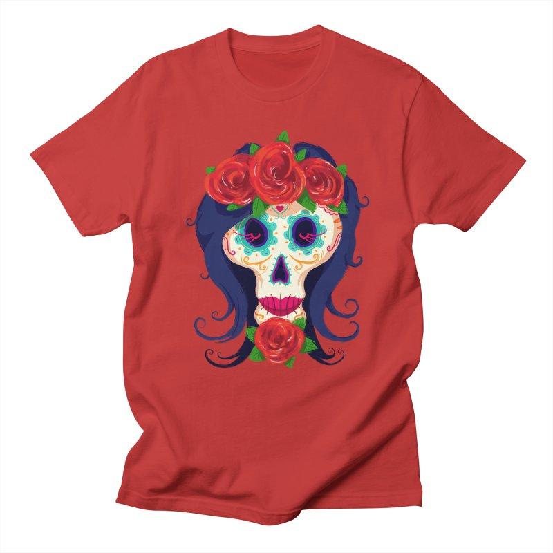 La Catrina Women's Unisex T-Shirt by Astronauta Store