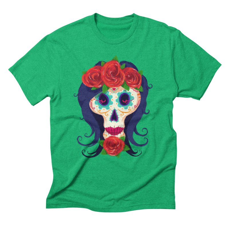 La Catrina Men's Triblend T-shirt by Astronauta Store