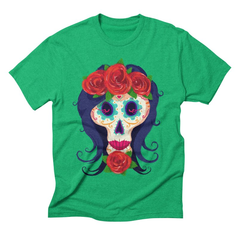 La Catrina Men's Triblend T-shirt by Astronauta Store
