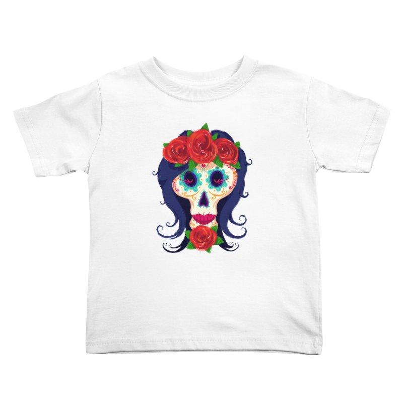 La Catrina Kids Toddler T-Shirt by Astronauta Store