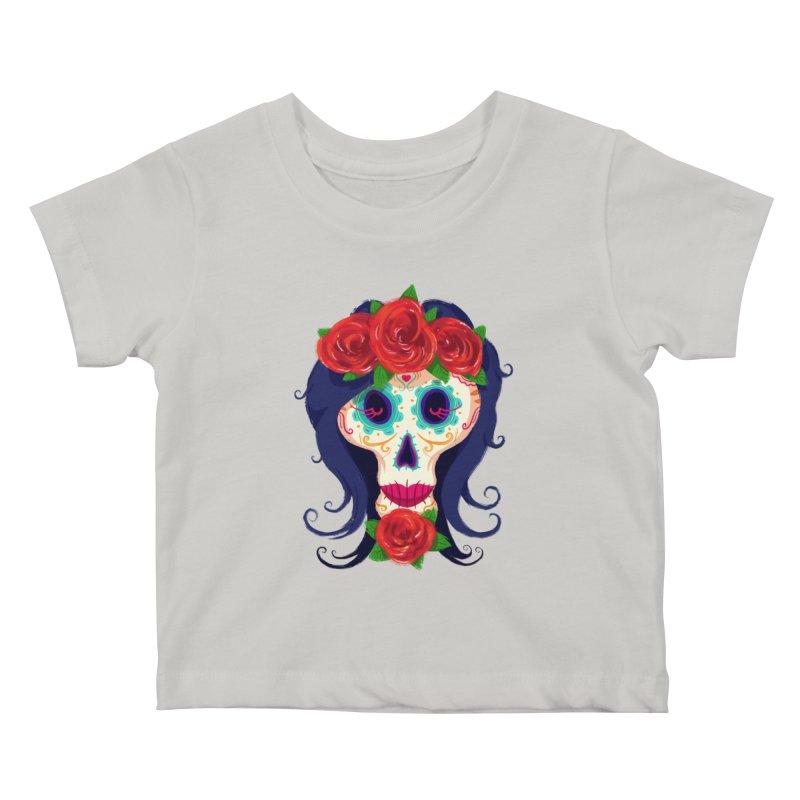 La Catrina Kids Baby T-Shirt by Astronauta Store