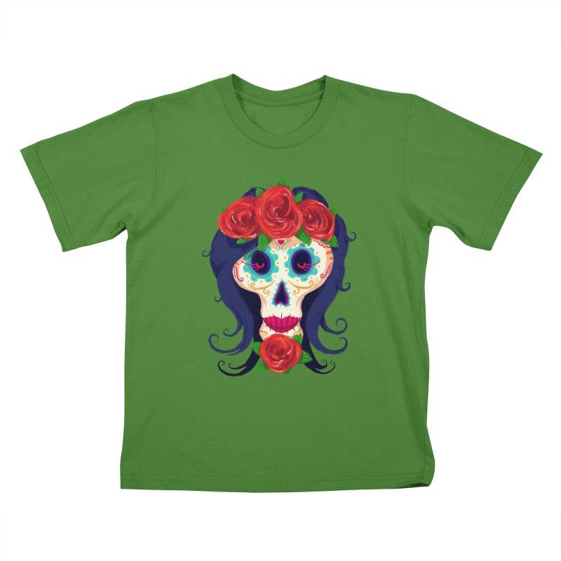 La Catrina Kids T-shirt by Astronauta Store