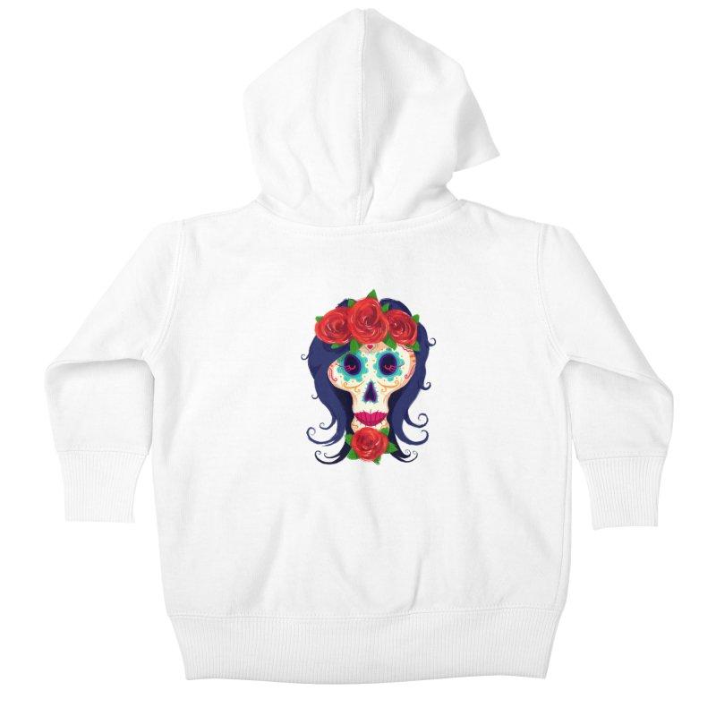 La Catrina Kids Baby Zip-Up Hoody by Astronauta Store