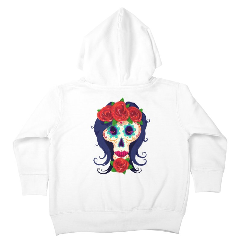 La Catrina Kids Toddler Zip-Up Hoody by Astronauta Store