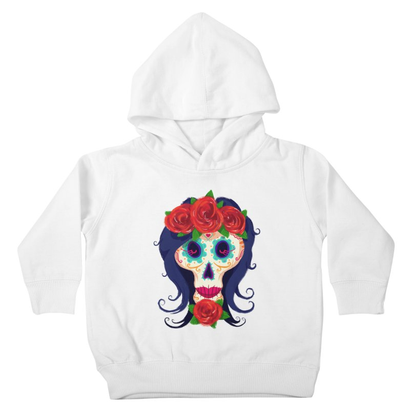 La Catrina Kids Toddler Pullover Hoody by Astronauta Store