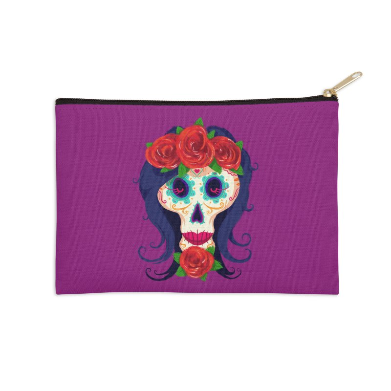 La Catrina Accessories Zip Pouch by Astronauta Store