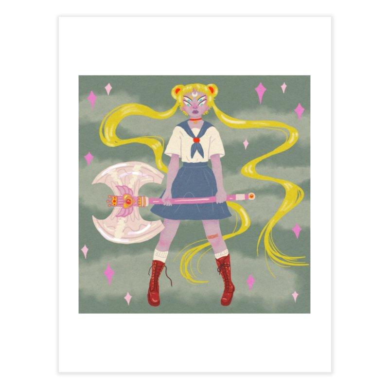 Sailor Smash Home Fine Art Print by ASTROSLUDGE