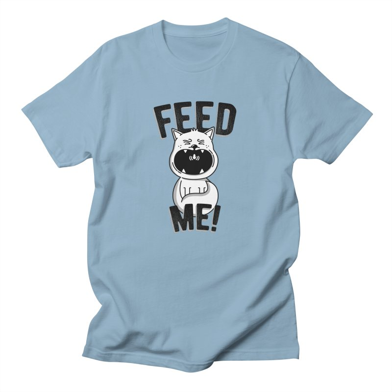 Feed Me! Men's Regular T-Shirt by Astrovix