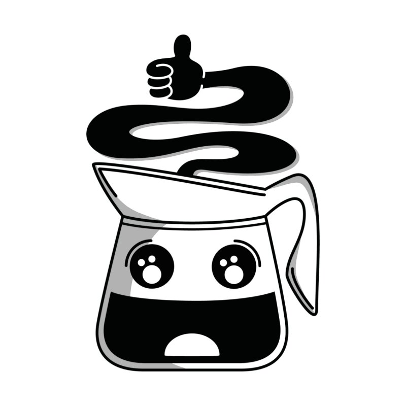 Coffee Pot Genie by Astrovix