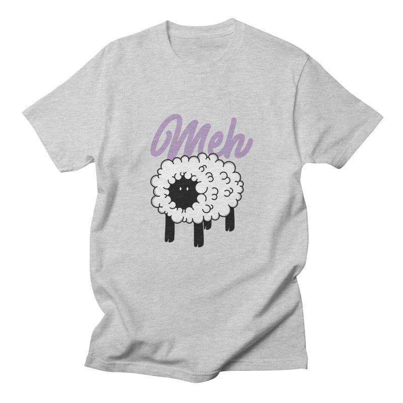 Meh Men's Regular T-Shirt by Astrovix