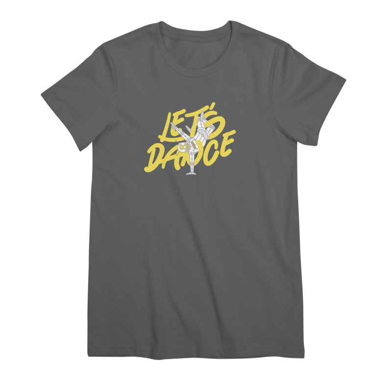 Let's Dance Women's T-Shirt by Astrovix