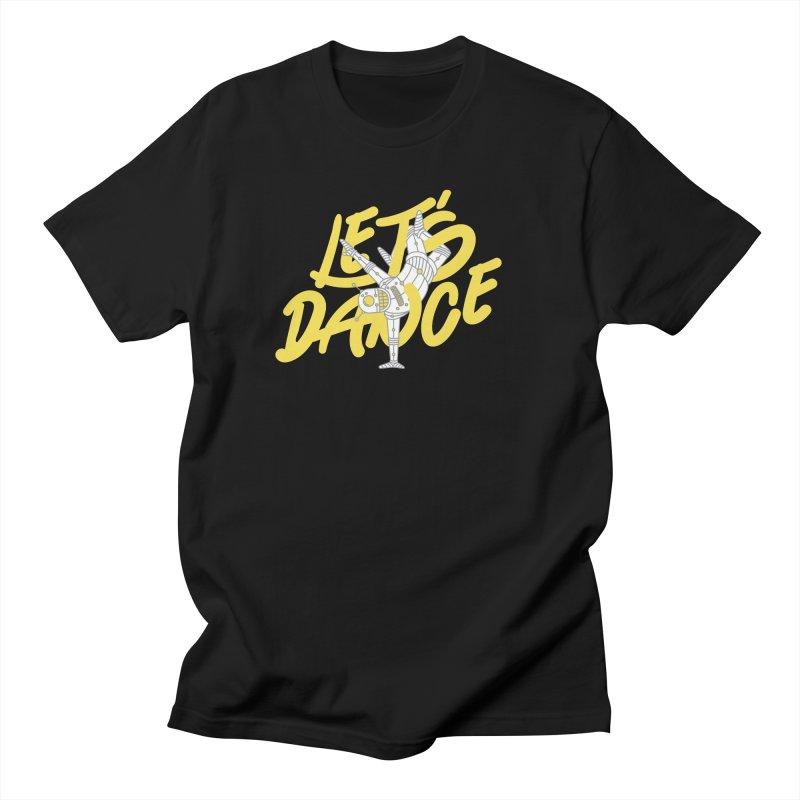 Let's Dance Men's T-Shirt by Astrovix