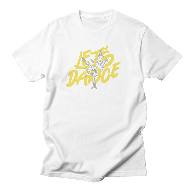 Let's Dance Men's T-Shirt by Astrovix