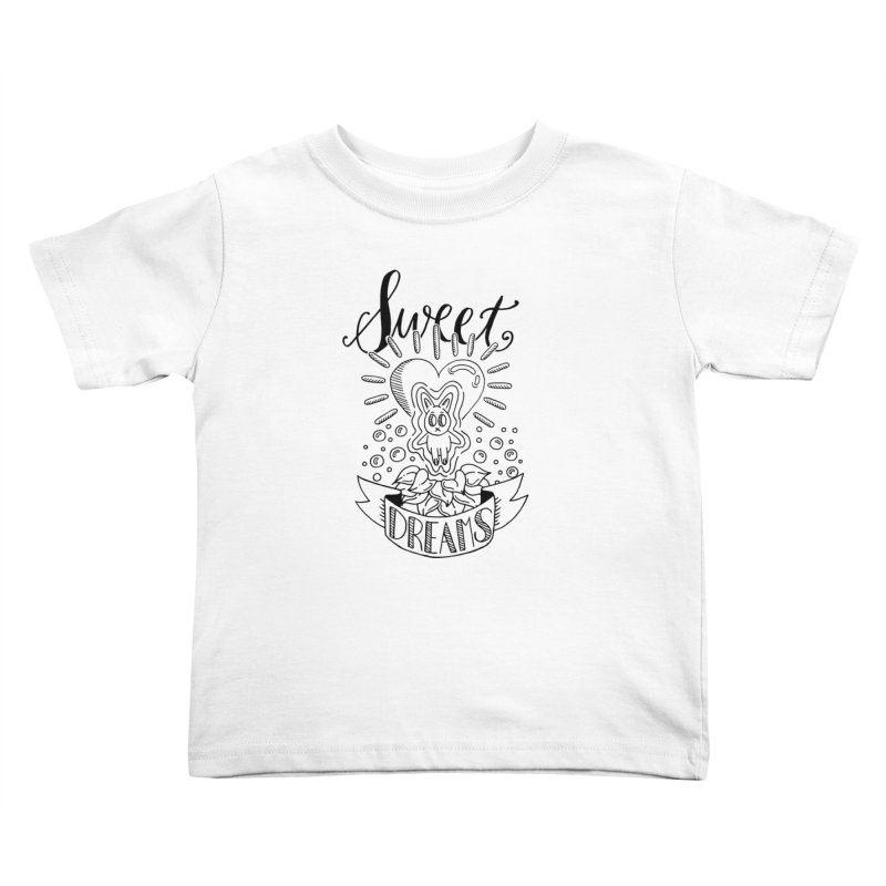 Sweet Dreams Kids Toddler T-Shirt by Astrovix